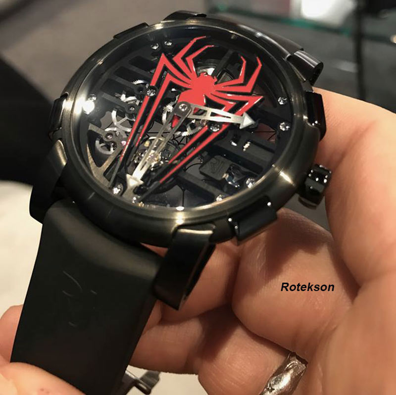 Romain Jerome Spider-Man - SIHH 2018