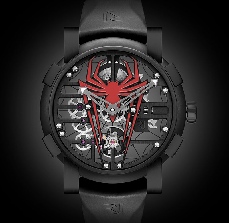 Montre Spider-Man Romain-Jerome, rj x spider-Man