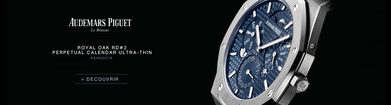 SIHH 2108 Audemars Piguet Royal Oak RD2