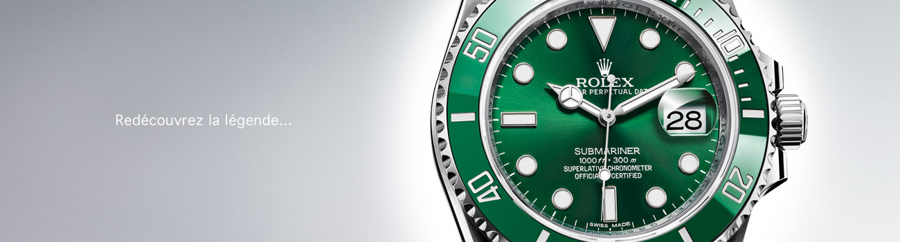 Rolex Submariner - Montre rolex Submariner