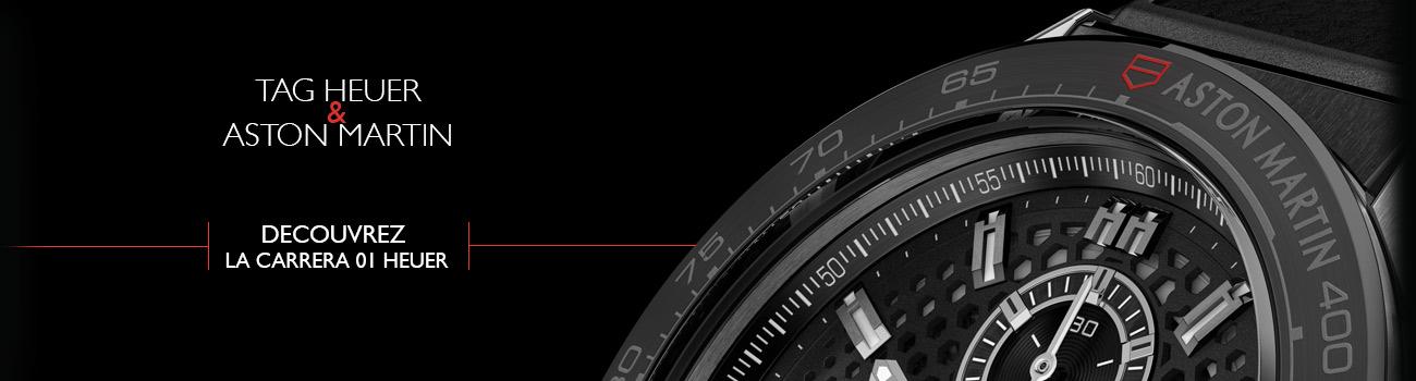 TAG Heuer et Aston Martin 2 montres de luxe sportives