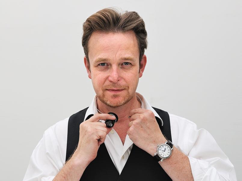 Peter Speake-Marin, horloger et fondateur des montres Speake-Marin