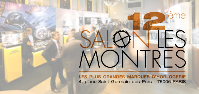 Salon les montres paris 2016 rotekson for Salon bio paris 2016